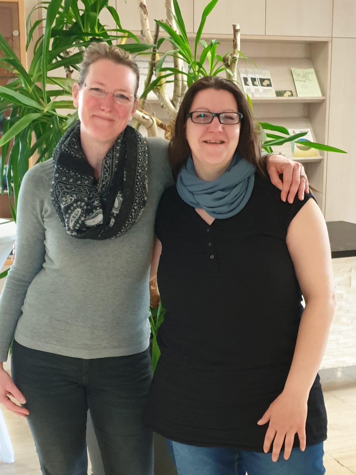 Stefanie Kropfberger und Isabella Steininger