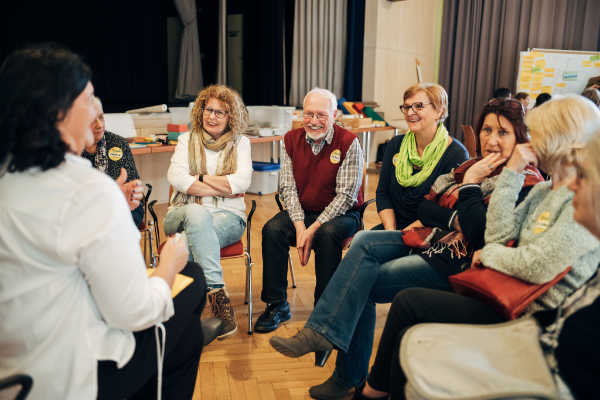 Diskussionsrunde im Rahmen der Vitalen Gemeinde Zwentendorf